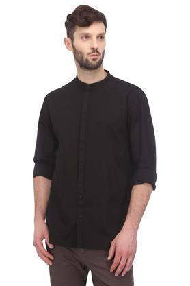 FRATINI - BlackCasual Shirts - Main