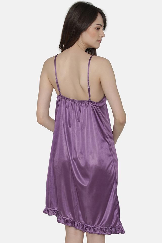 Womens Solid Nightwear - Set of 7