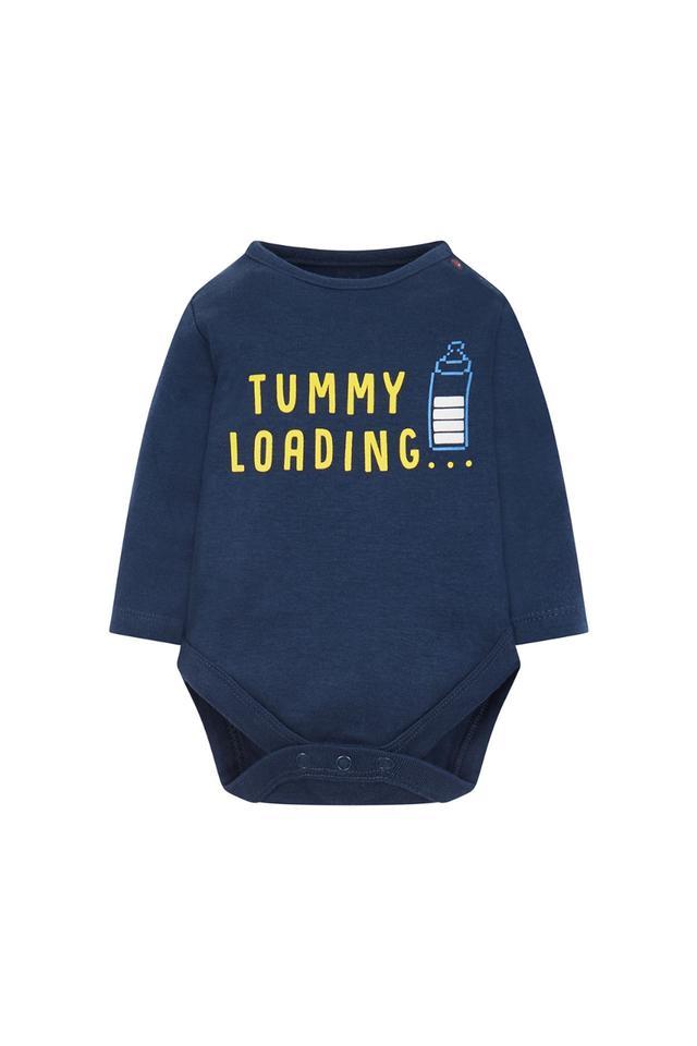 Kids Round Neck Graphic Print Babysuit