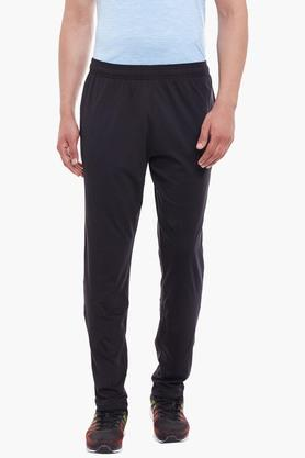 ALCISMens Slim Fit Solid Track Pants