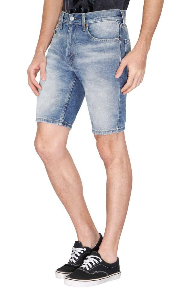 Mens 5 Pocket Heavy Wash Shorts