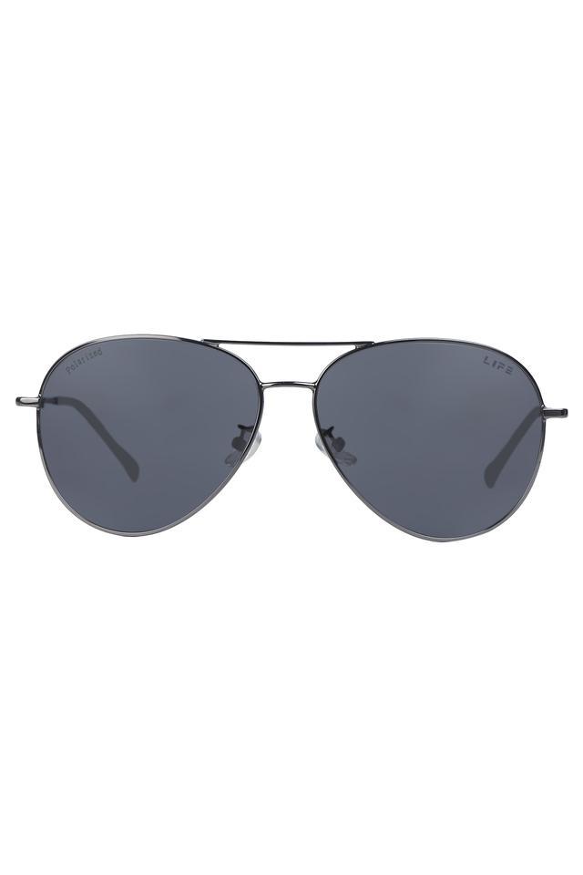 Mens Full Rim Aviator Sunglasses - LI056LI2861