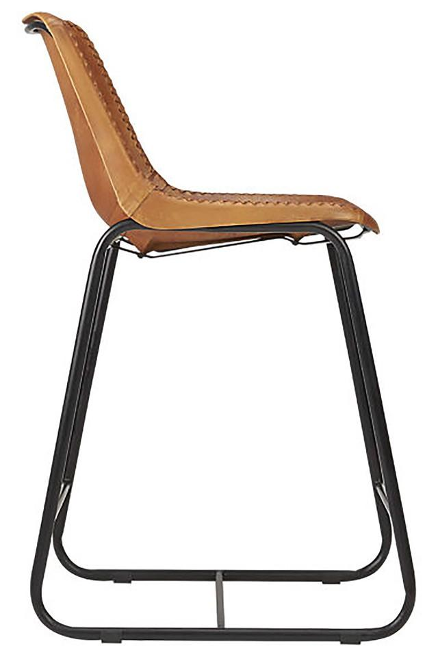 Brown Megan Bar Chair