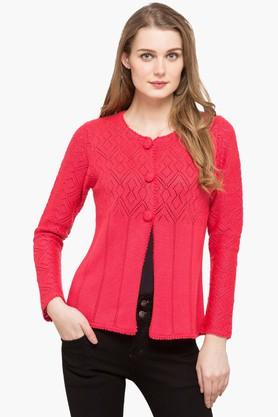 APSLEY Womens Round Neck Knitted Cardigan