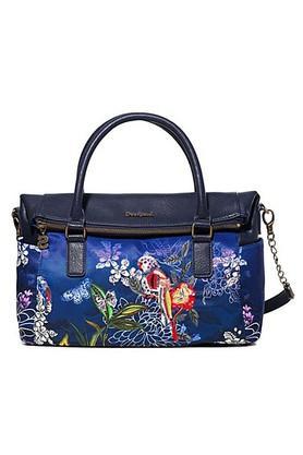 DESIGUALWomens Zipper Closure Satchel Handbag - 203850495_9308