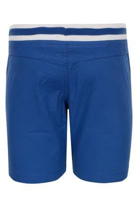Boys 2 Pocket Solid Shorts