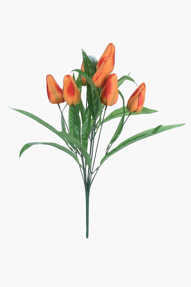 Tulip bush Artificial Flower - Set of 9 Stems