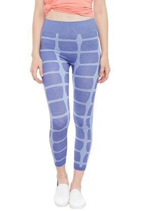 X C9 Womens Calf Length Printed Leggings