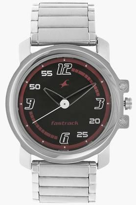 Black Dial Stainless Steel Strap Watch - NG3039SM08C