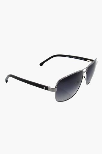 Mens Square Polycarbonate Sunglasses - GC285BK1P