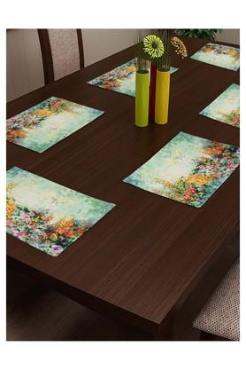 SWAYAM Floral Printed Place Mat Set Of 6