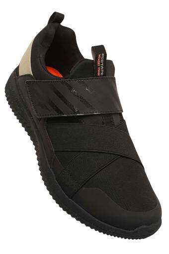 Mens Mesh Velcro Closure Sports Shoes