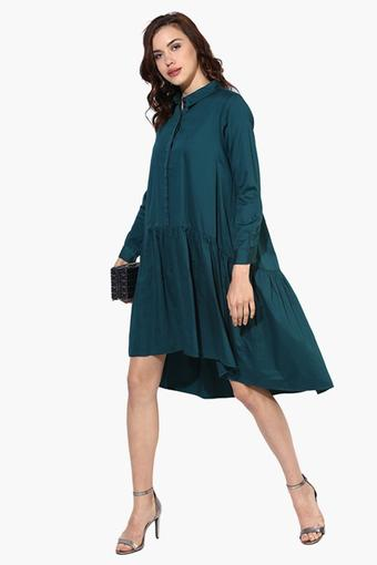 EVAH LONDON -  Green Dresses - Main