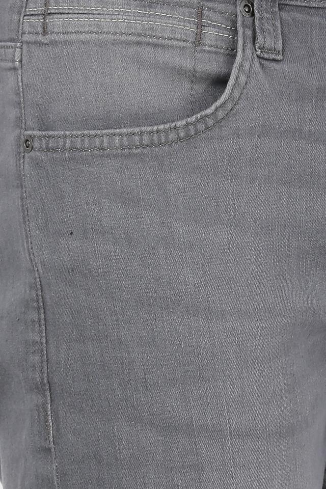 Mens 4 Pocket Mild Wash Rodeo Jeans