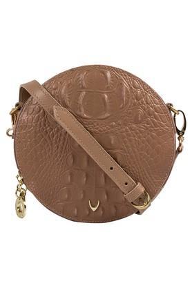 HIDESIGNWomens Zipper Closure Box Sling Bag