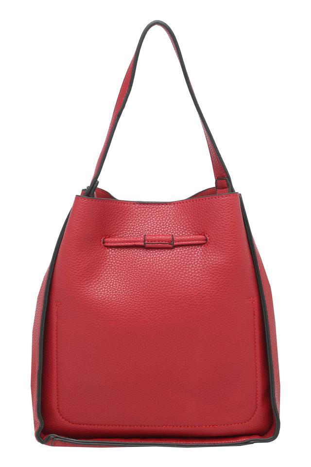 Womens Snap Closure Hobo Handbag
