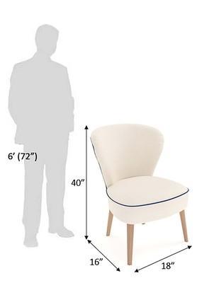 White Cloe Chair