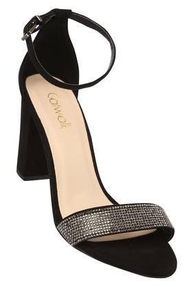 CATWALKWomens Casual Wear Buckle Closure Heels - 204602562_9212