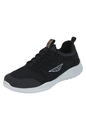 ATHLEISURE Mens Mesh Lace Up Sports Shoes - 203578081_9212