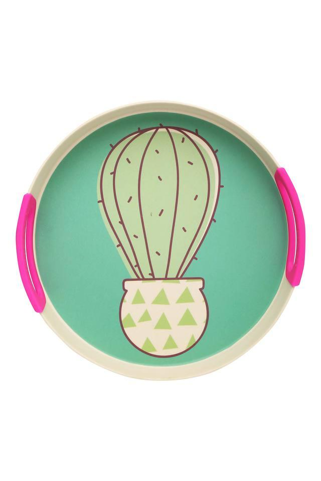 Cactus Silicone Round Tray