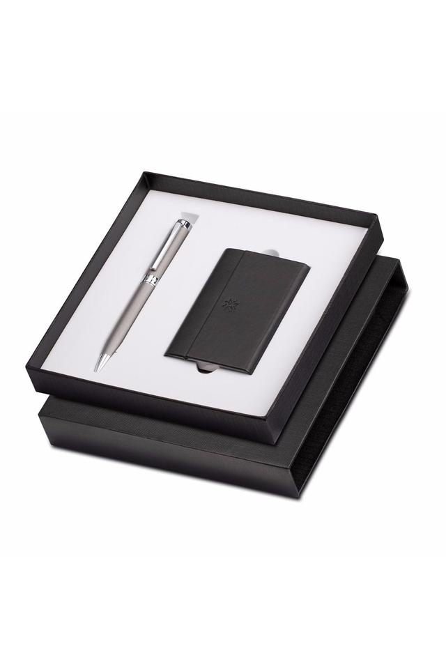 Hercules Ballpoint Pen With Business Card Holder