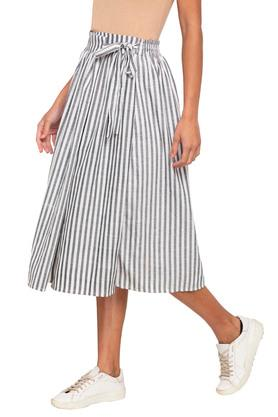 Womens Striped Skirt