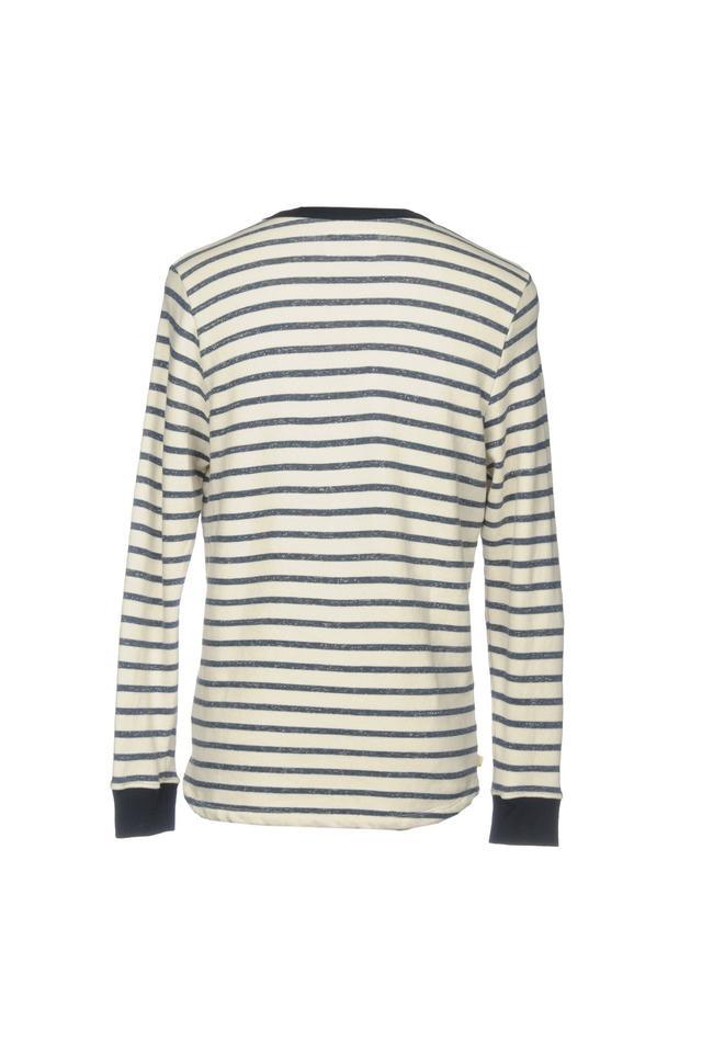 Mens Round Stripe Sweatshirts