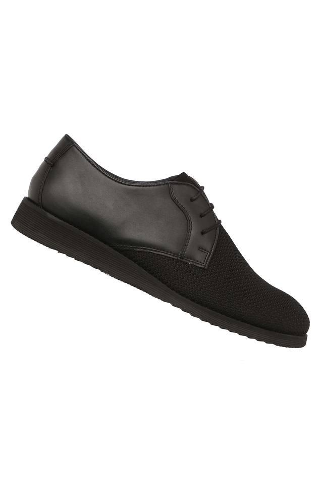Mens Mesh Lace Up Casual Shoes