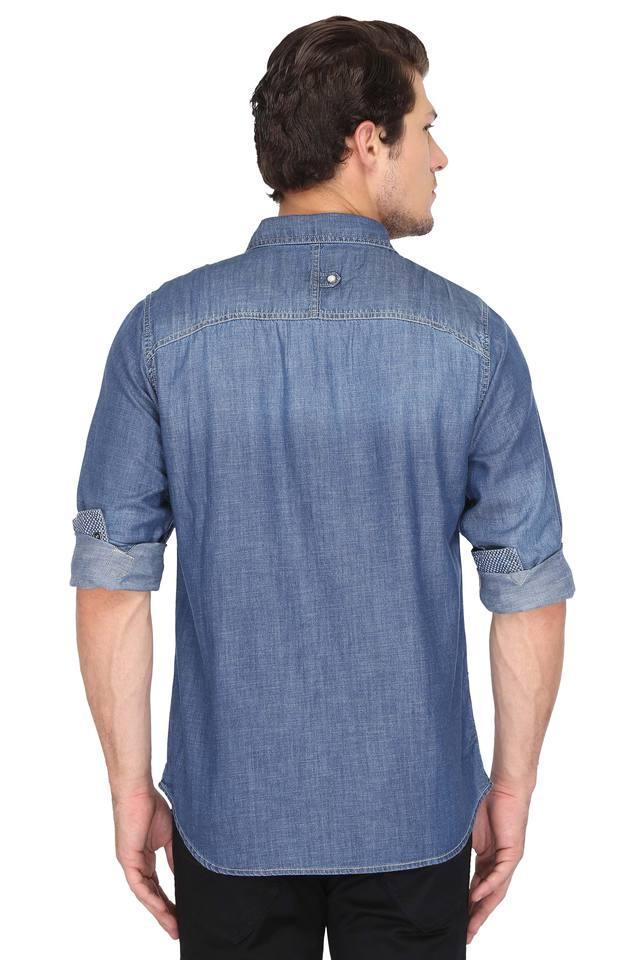 Mens 2 Pocket Slub Shirt