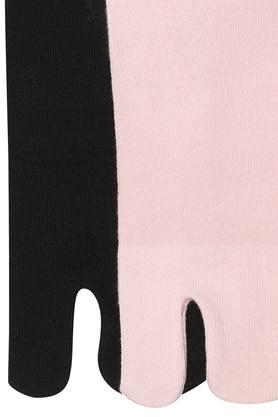 Womens Solid Ankle Socks Pack of 2