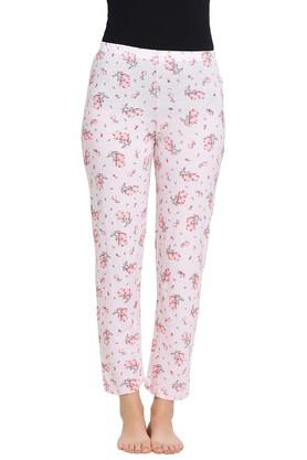Womens Mid Rise Floral Print Pyjama