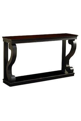 Black Elliot Console Table
