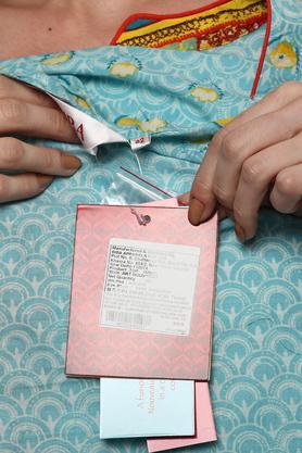 Womens Notched Neck Printed Kurta