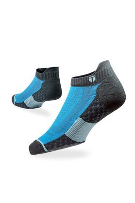 Unisex Colour Block Ankle Socks - Pack of 2