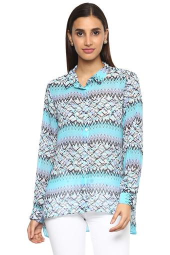 Buy Austin Reed Womens Printed Casual Shirt Shoppers Stop