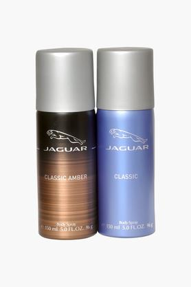 Classic Body Sprays And Classic Amber body Sprays For Men - 150ml - Pack Of 2
