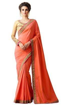 Womens Silk Partywear Saree