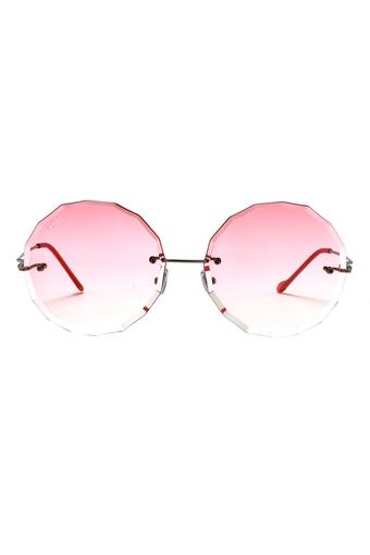 Womens Emma UV Protected Lens Round Sunglasses - SC030 C4