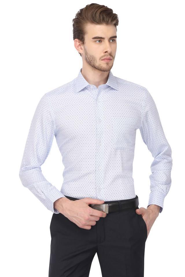 Mens Dot Pattern Formal Shirt