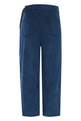 Girls Solid Casual Culottes