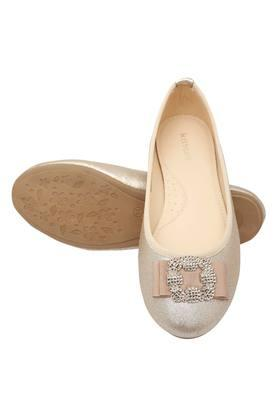 Girls Party Wear Slipon Ballerinas
