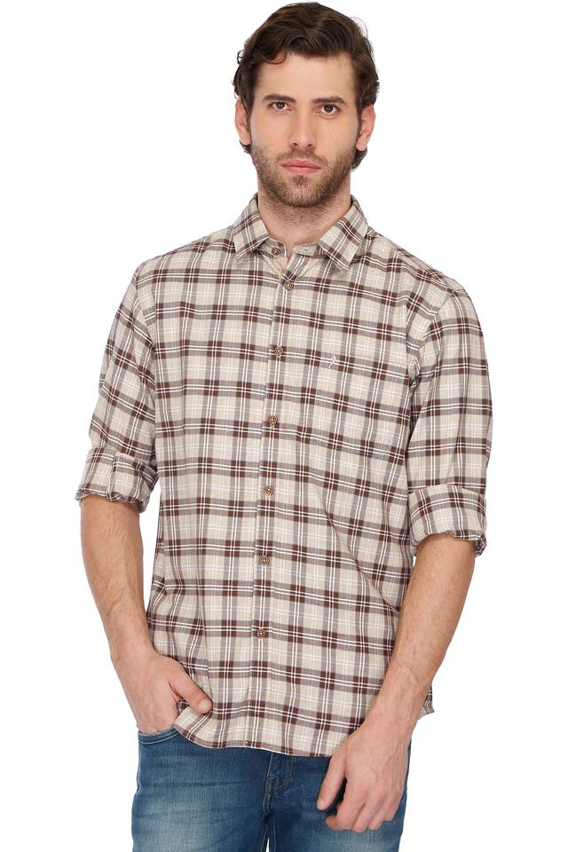 Mens Slim Fit Check Shirt