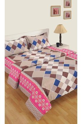 SWAYAMCotton Geometric Printed Double AC Comforter - 204762427_9557