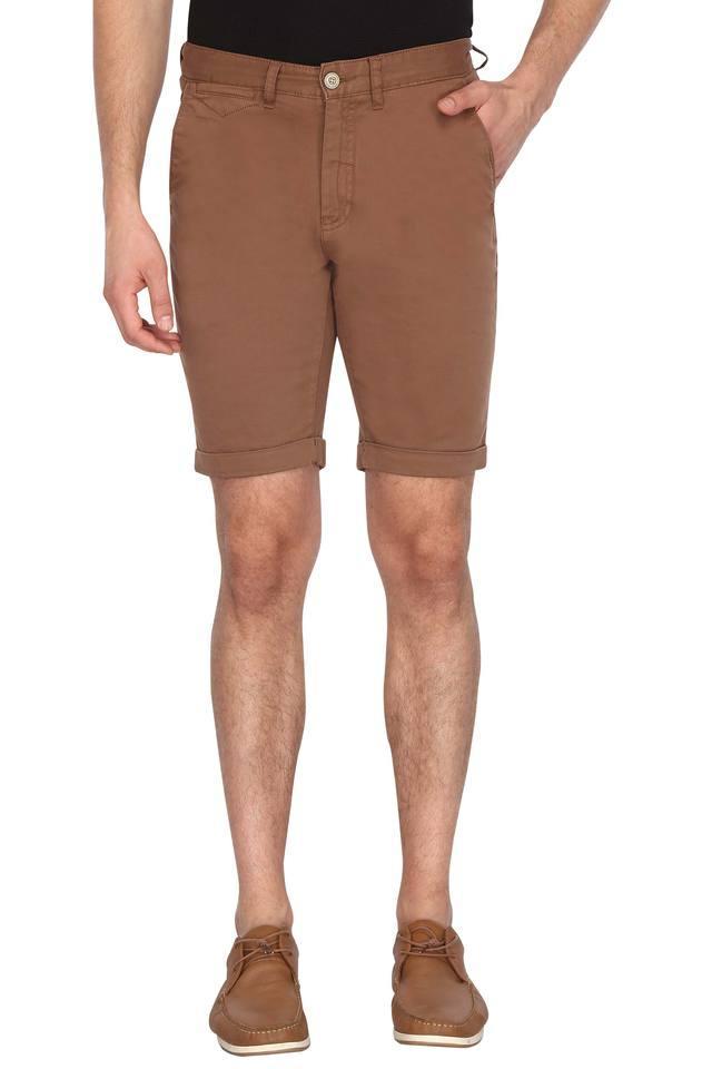 Mens 5 Pocket Slub Shorts