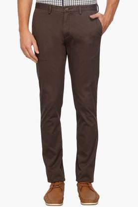BLACKBERRYS Mens Regular Fit Mid Rise Chinos