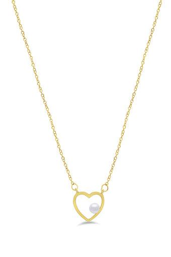 Womens Gold Plated Necklace