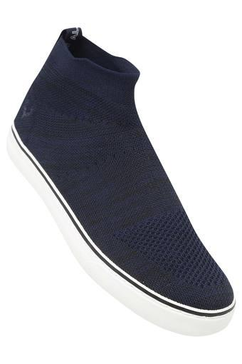 Mens Mesh Slip On Sneakers