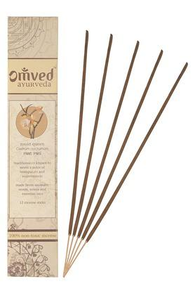 OMVEDNight Queen Non Toxic Natural Incense Sticks Set Of 12