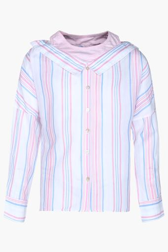 Girls Striped Shirt