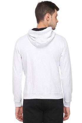 Mens Hooded Neck Slub Sweatshirt